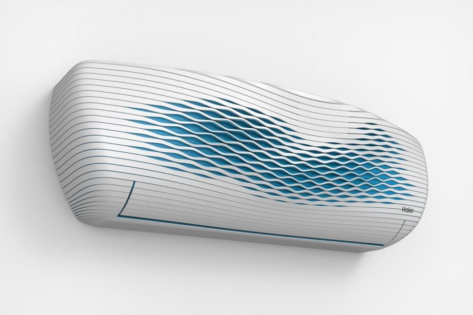 кондиционер напечатанный на 3D принтере