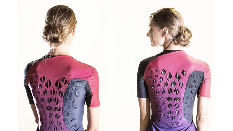 Тренировочная одежда с собственной системой охлаждения